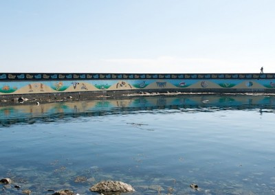 Unity Wall, Ogden Point 2009