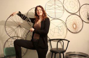 150 Bike Wheels Later Christine White Artist