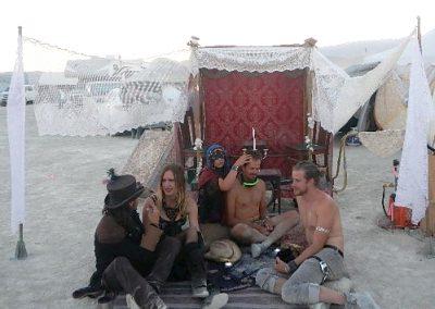 Group sitting