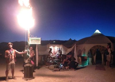 Mobile Empress at Burning Man 2017