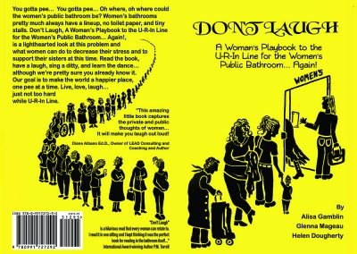 Book Cover - 'Don't Laugh'
